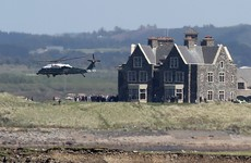 Trump Doonbeg got €113,000 from gardaí for food and board during presidential visit