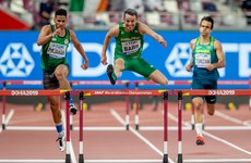 Ireland's Thomas Barr advances in World Championships