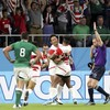 Giant killers! Japan rock the World Cup with stunning win over Schmidt's Ireland