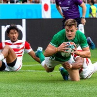 As it happened: Japan v Ireland, Rugby World Cup