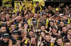 Richmond claim AFL title with stunning 89 point thrashing of GWS Giants
