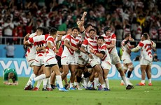 'All the Irish media were talking about South Africa' - Japan savour huge shock