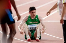 Disappointment for Mark English and Thomas Barr at World Championships