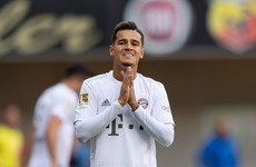 Coutinho scores again as Bayern come out on top after five-goal thriller in Paderborn