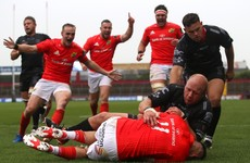 Munster get Pro14 campaign off to winning start with bonus point victory against Dragons