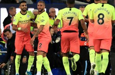 Man City made to sweat in win over Everton