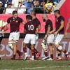 Georgia crush giant-killers Uruguay with bonus-point victory