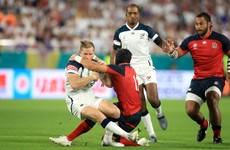 England's Francis avoids ban for high tackle on USA fullback