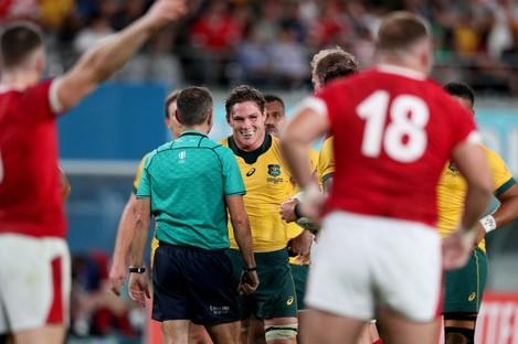 Australia were not happy with Poite.