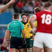 Cheika 'embarrassed' by refereeing inconsistencies