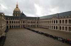 Mourners begin bidding final farewell to late French president Jacques Chirac