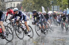 Valverde and Martin drop out of rain-hit world road race