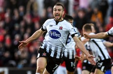Duffy's 89th-minute winner sends treble-chasing Dundalk through to fifth cup final in five years