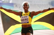 Jamaican sprint queen Fraser-Pryce cruises to record fourth 100m gold at worlds
