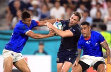 Scotland keep pressure on Ireland with bonus-point win over Samoa