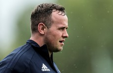 Conan back in Leinster HQ as neck injury hampers Byrne