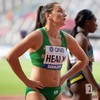 Phil Healy falls short in 200m heat at World Championships, but optimism shines through after