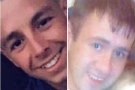 Jonathan Healy (left) and Patrick Hogan (right)