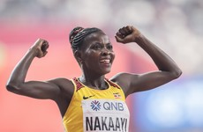 Uganda's Nakaayi wins 800m world title in Caster Semenya's absence