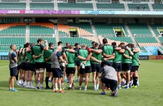 Ireland cancel open training session plan for second time in Japan
