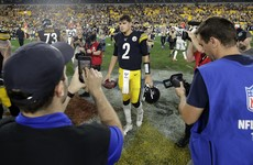 Second-string QB Mason Rudolph leads Steelers to their first win