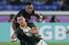 South Africa call up on-loan Saracens back as Kriel withdraws with injury from All Blacks game