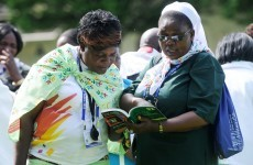 In pictures: Ecumenical matters dominate day two of Eucharistic Congress
