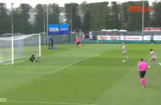 Shakhtar score cheeky two-man penalty in the Uefa Youth League