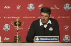 Harrington sees future Ryder Cups being played at neutral venues to eliminate home advantage