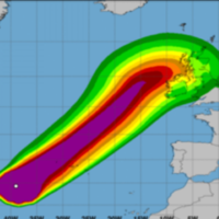 Storm Lorenzo could cause 'ferocious' and 'very dangerous' storm surges in coastal areas