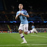 19-year-old midfielder on target as Man City prevail