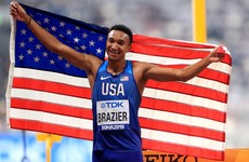 Brazier brushes off doping controversy to win 800m gold
