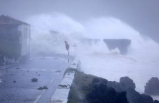 Lorenzo batters the Azores with 100mph winds