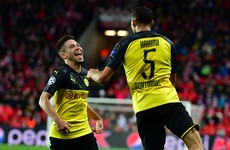 Achraf double gets Dortmund up and running as Napoli frustrated in Belgium