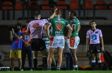 Benetton winger banned after 'reckless' act in defeat to Leinster
