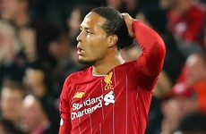 'We can do better': Van Dijk says performance shows 'obvious' need for improvement