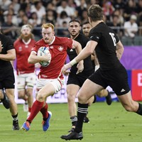 'I saw Beauden Barrett in front of me and just had to back myself'