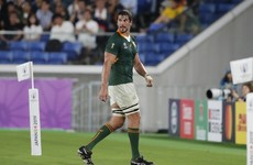 South Africa's Etzebeth 'full out' for World Cup despite assault case