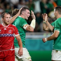 As it happened: Ireland v Russia, Rugby World Cup