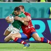 Watch: The two early tries that have Ireland up and running against Russia