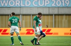Murphy forced off against Russia as Ireland's injury problems mount