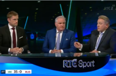 TV Wrap - Eddie O'Sullivan sticks the boot in as others stress the 'work-ons' after fitful Irish win