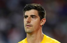 'He suffers with De Gea syndrome' - Belgium coach on Courtois