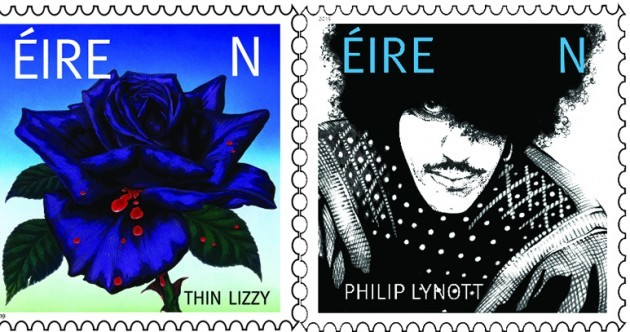 Two new stamps mark 50 years of Thin Lizzy