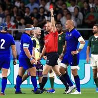 Shades of Mealamu and Umaga as Italian prop sees red in loss to Springboks