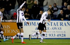 Dundalk retain remarkable unbeaten run to hurt Derry's third-place hopes