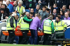 Hugo Lloris forced off with horrific arm injury after Brighton take the lead against Tottenham
