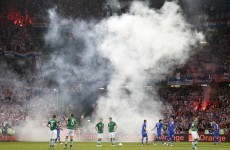 Any chance of a walkover, lads? Croatia in dock for flares, smoke bombs‎
