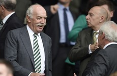 Dermot Desmond submits proposal to become 25% shareholder of Shamrock Rovers