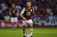 First Premier League goal for Conor Hourihane as Aston Villa rout Norwich